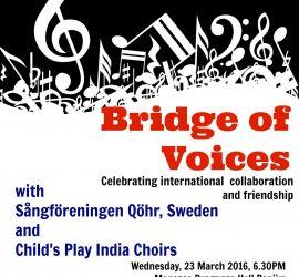 Bridge of Voices: Celebrating international collaboration and friendship