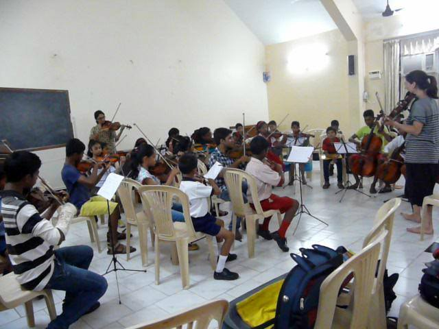 Junior Camerata Child's Play India – Orchestra